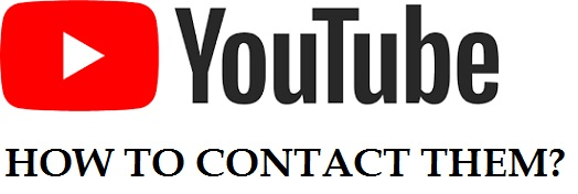 How to contact YouTube support