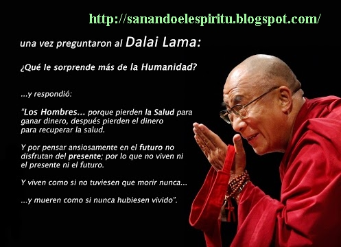Sanando El Espiritu Pregunta A Dalai Lama