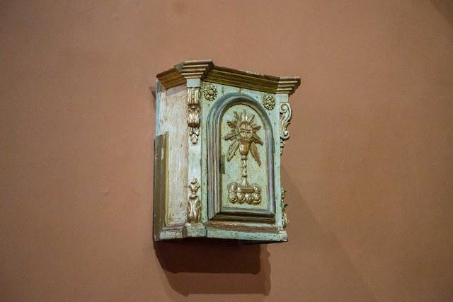 Sacrário da primeira igreja matriz de Curitiba