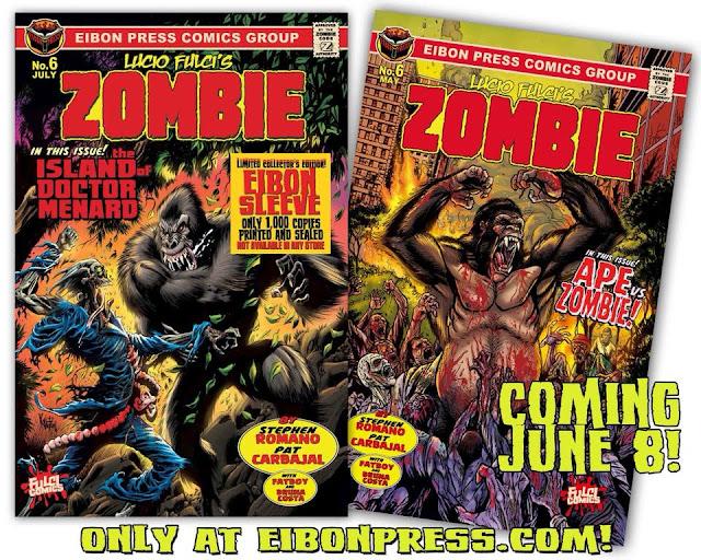 Lucio Fulci's ZOMBIE #6: Ape vs Zombies