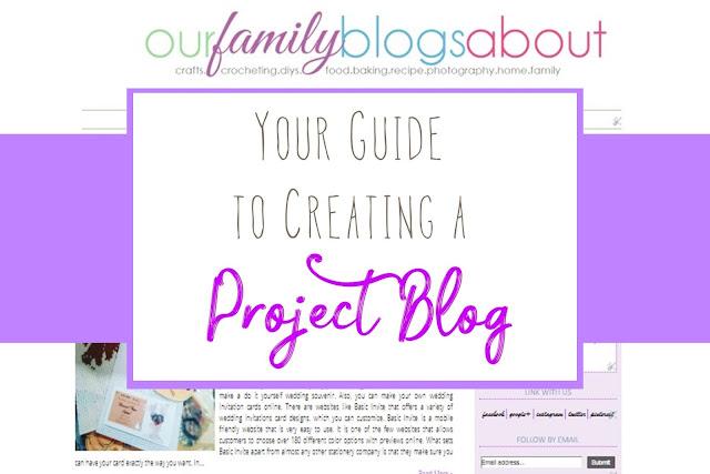 project blog, creating a blog, blogging, blog guide