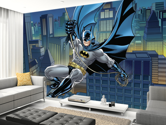 Superhero Wall Mural Batman