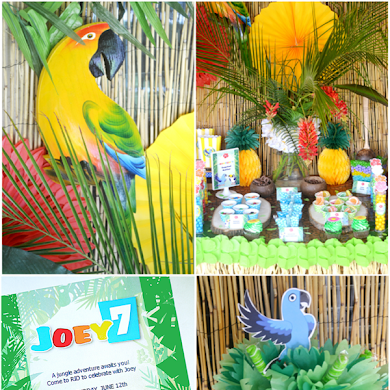 Rio 2 Movie Inspired Birthday Party