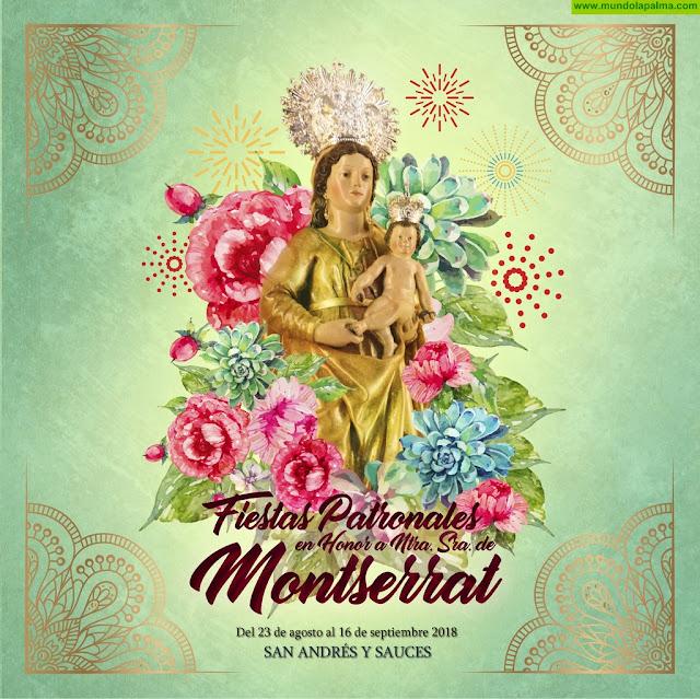 Programa de las Fiestas de Nuestra Señora de Montserrat 2018 en San Andrés y Sauces