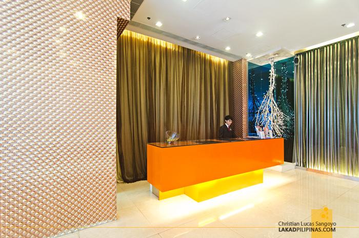 Cosmo Hotel Wan Chai Lobby