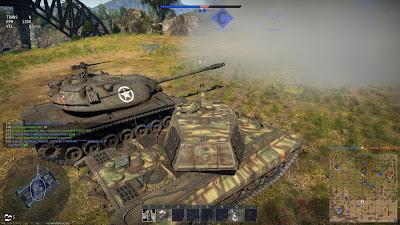 Desvalance de tanques en war thunder