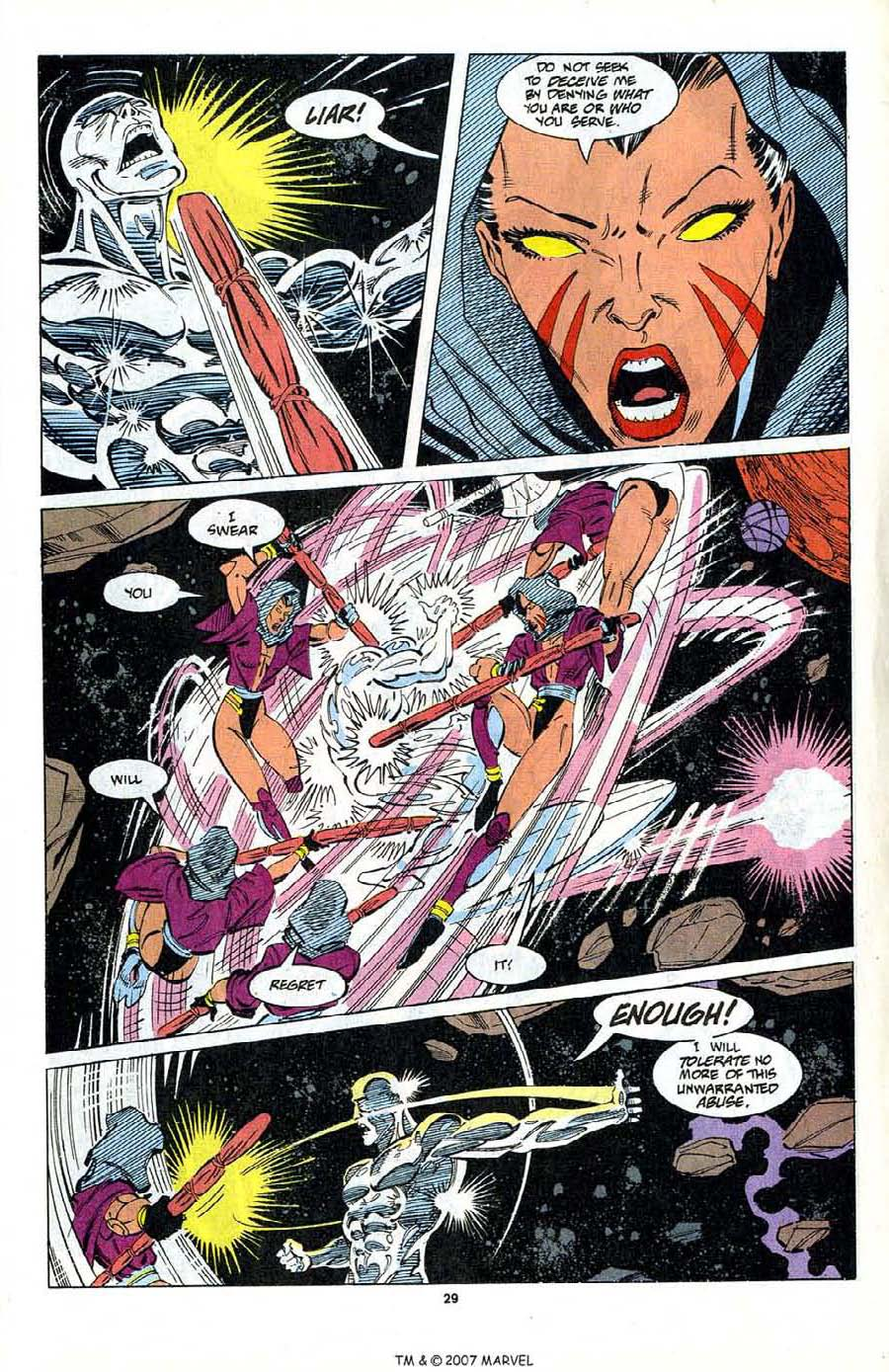 Read online Silver Surfer (1987) comic -  Issue #80 - 31