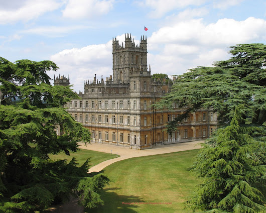 The Homes and Interiors of Downton Abbey