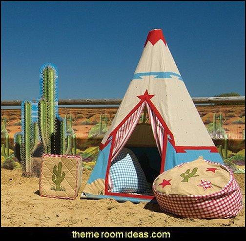 Cowboy Wigwam Play Tent