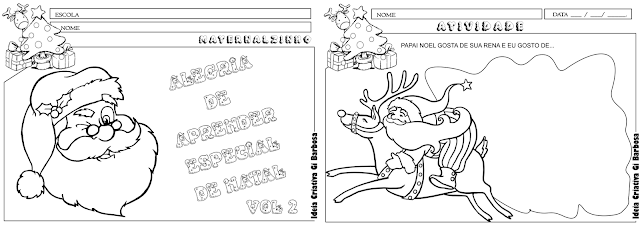 Caderno de Atividades Alegria de Aprender Especial de Natal Vol 2