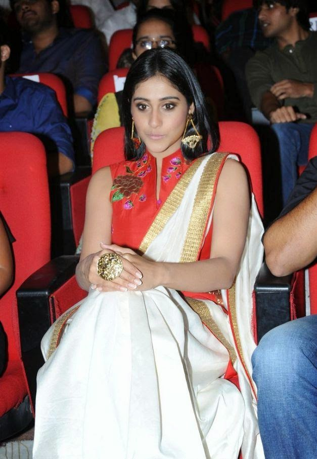 Actress Regina At Movie Audio Launch In White Churidar