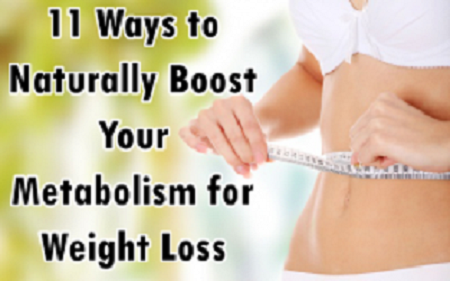11 Ways to Naturally Boost Your Metabolism for Weight Loss