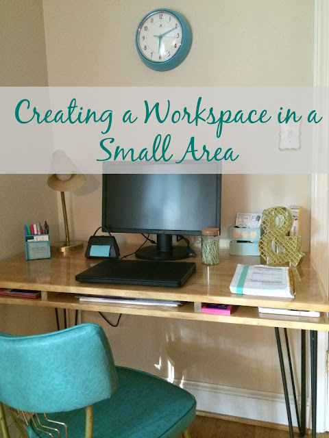 Create your own workspace in a small area with these tips