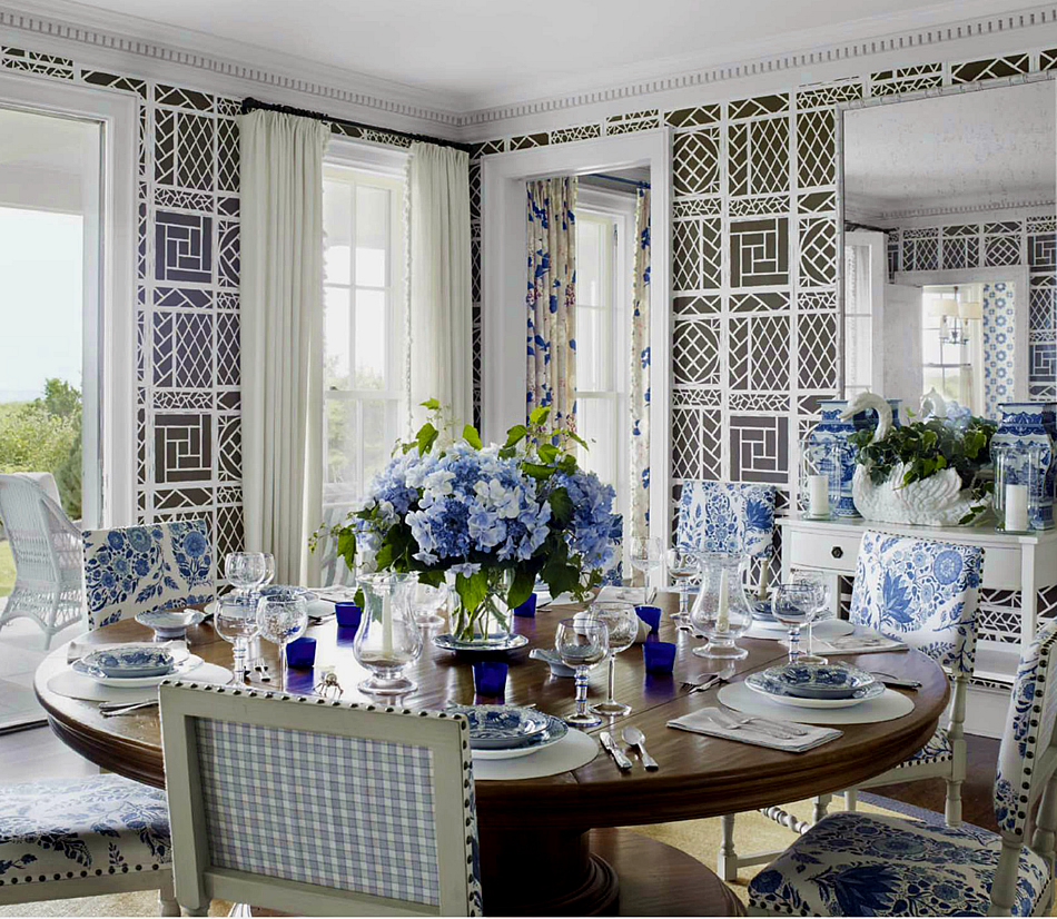 Dining Room Wall Paper: Chinoiserie Chic: June 2014