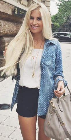 Cute outfit ideas for summer #cuteoutfit #summer