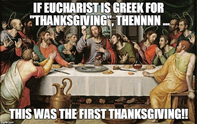 Happy Catholic Thanksgiving!