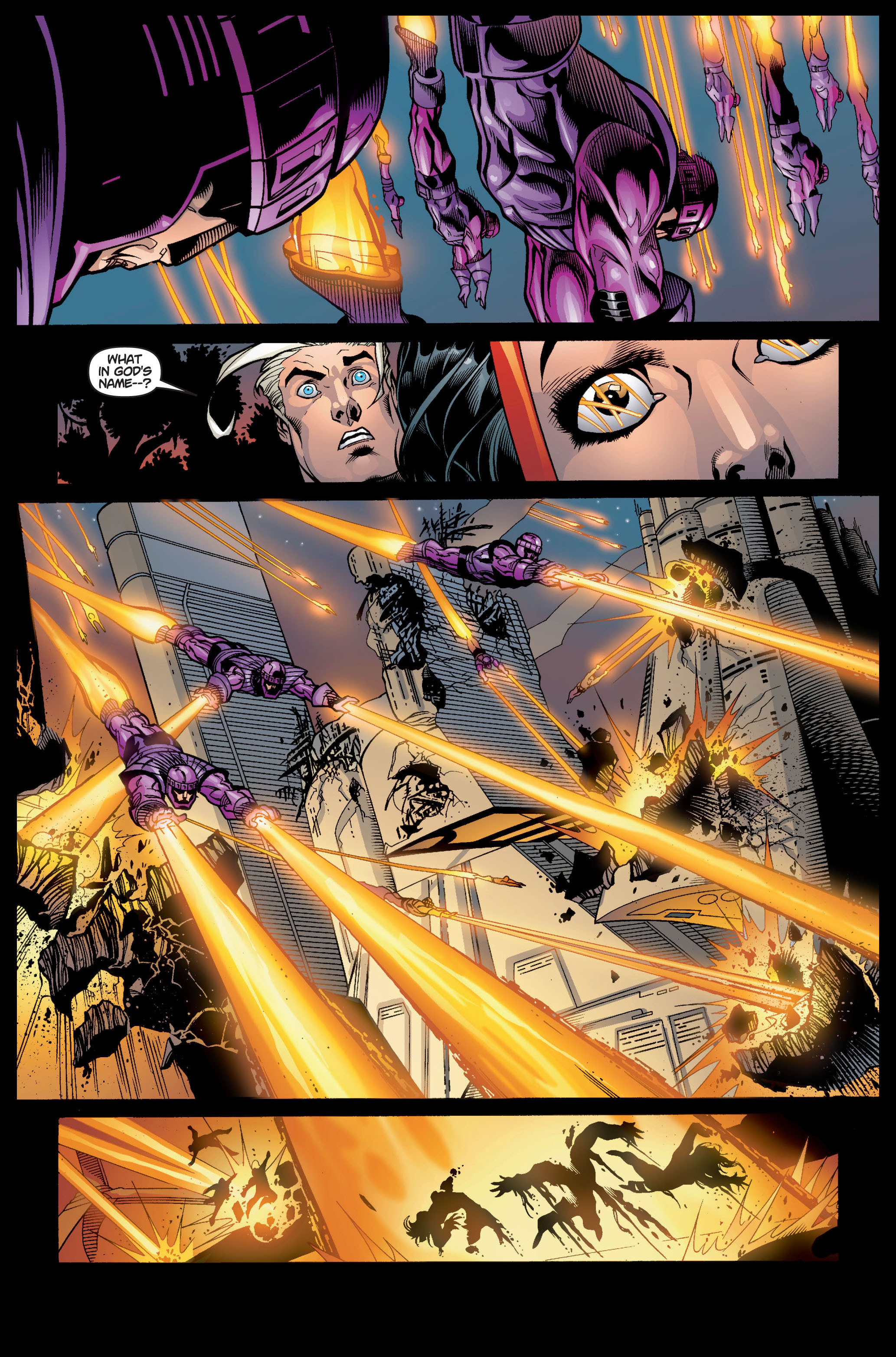 Read online Ultimate X-Men comic -  Issue #5 - 16
