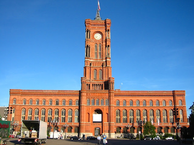 Berliner Rathaus em Berlim