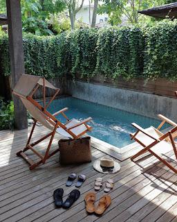 Piscina privata all'hotel Tango Luxe
