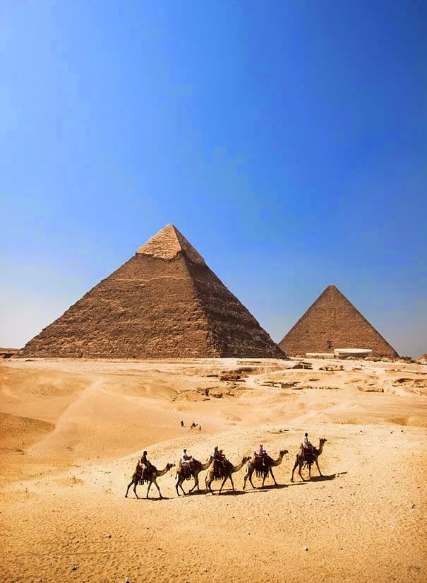 ancient world history pyramids of giza