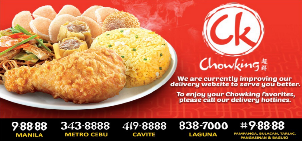 Chowking Delivery