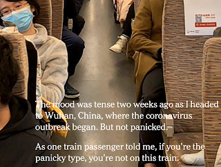 A photo essay of people living through the quarantine in Wuhan.