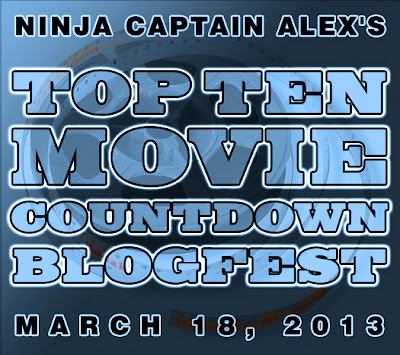 Top Ten Movies Countdown Blogfest button