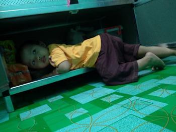 Tempat Tidur di Dapur