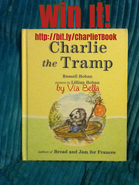Charlie and the Tramp {Win It}, Charlie and the Tramp, Book Review, Russell Hoban, Lillian Hoban, Plough Publishing, Walden Books, Via Bella, kids books, Win it, giveaway, enter to win, Christmas giveaway