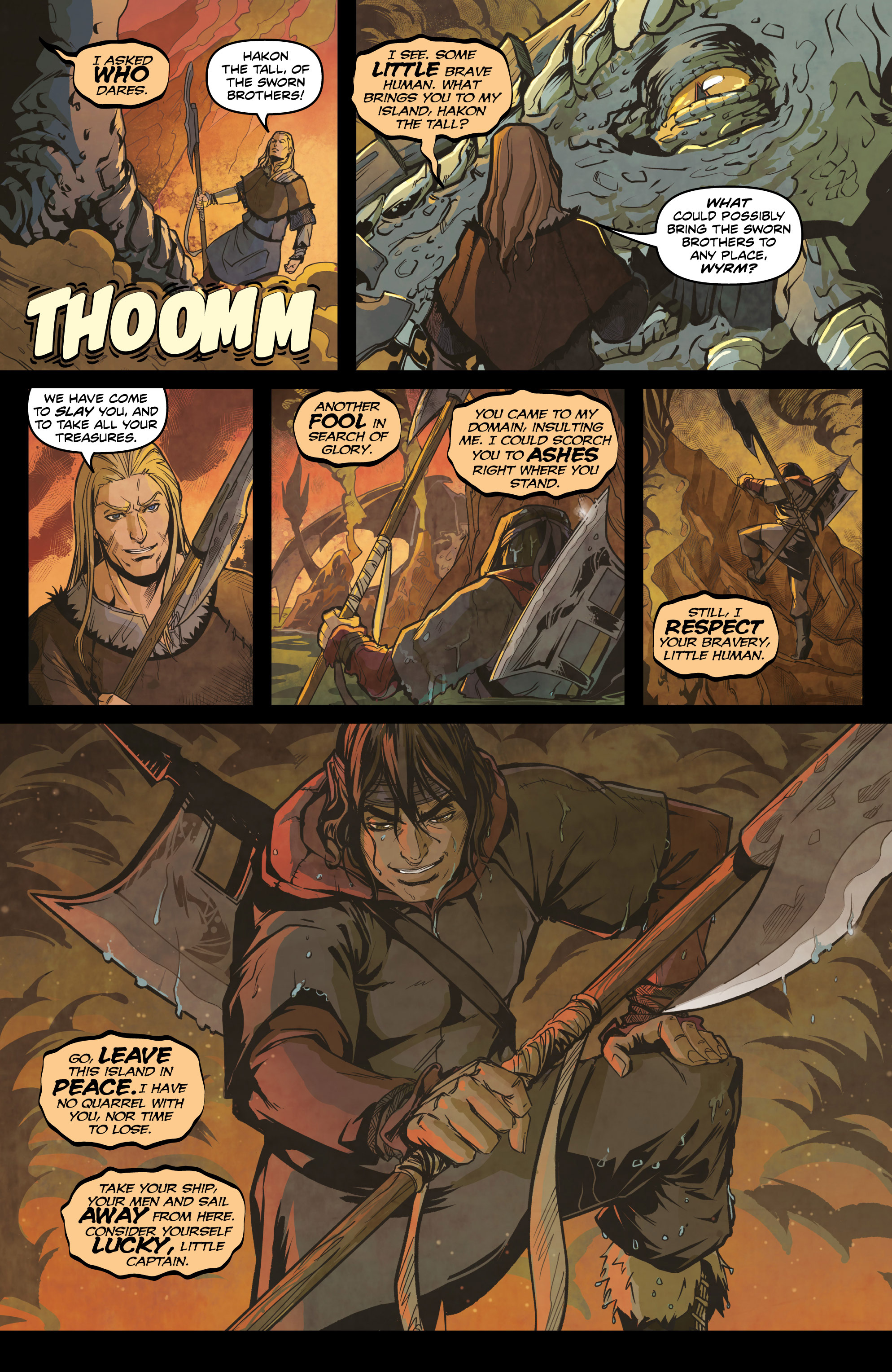 Read online Rogues! (2014) comic -  Issue #4 - 8