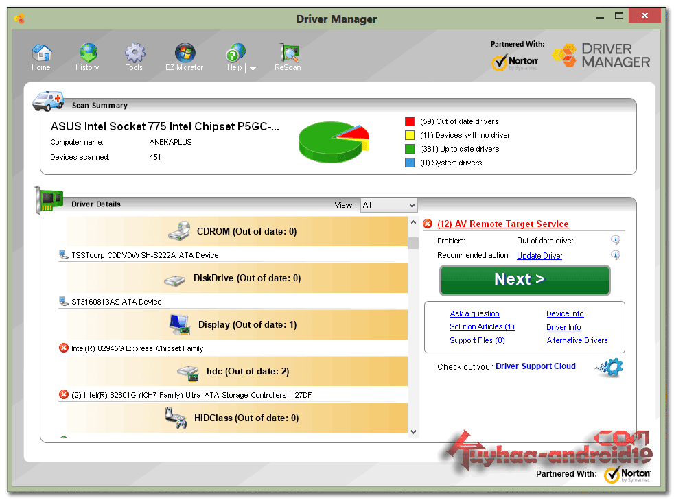 Driver Manager 8.1.0.3 Full