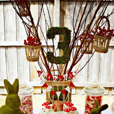 A Woodland Bambi Inspired 3rd Birthday Party