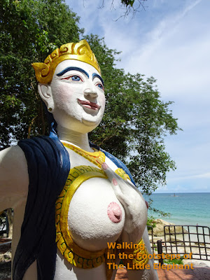 A spirit at Koh Samet, Thailand