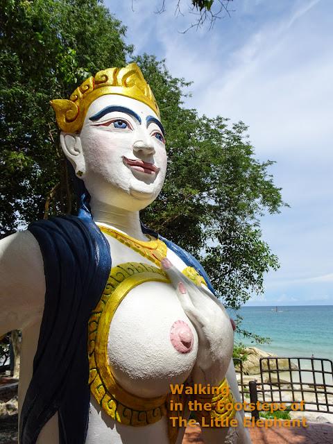 A spirit at Koh Samet, Thailand
