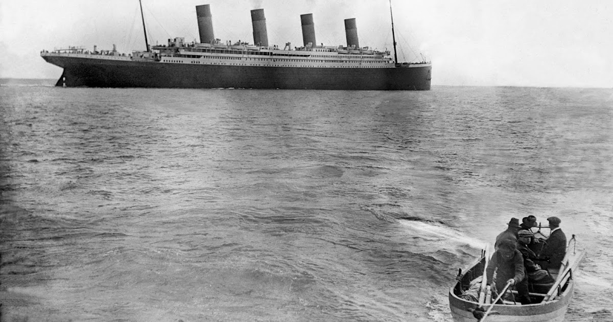 This Is The Last Known Photo Of The Titanic Afloat April