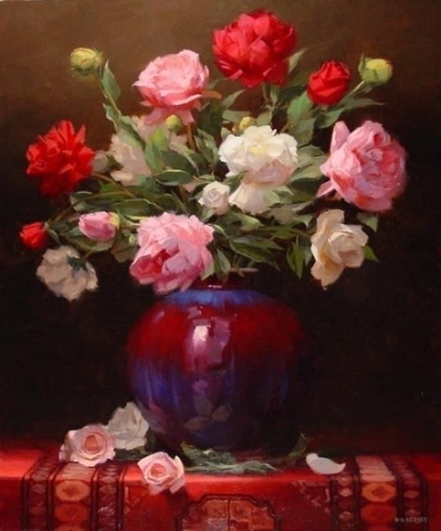 Laurie Kersey 1961 Still Life Painter Tutt Art