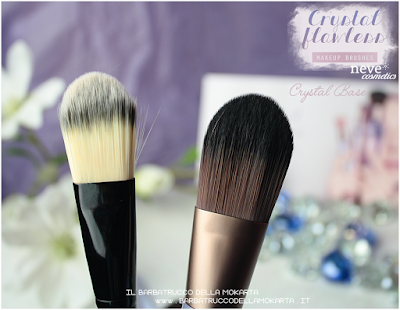 Crystal Base comparazioni NeveCosmetics Crystal Flawless Brushes