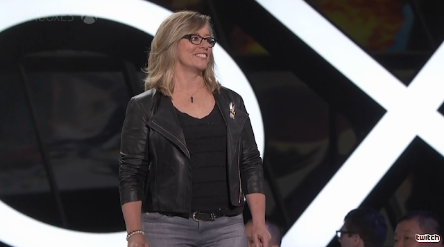 Head of Microsoft Studios publishing, Shannon Loftis E3 2016 conference
