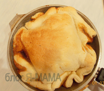 яблочный пирог из слоеного теста