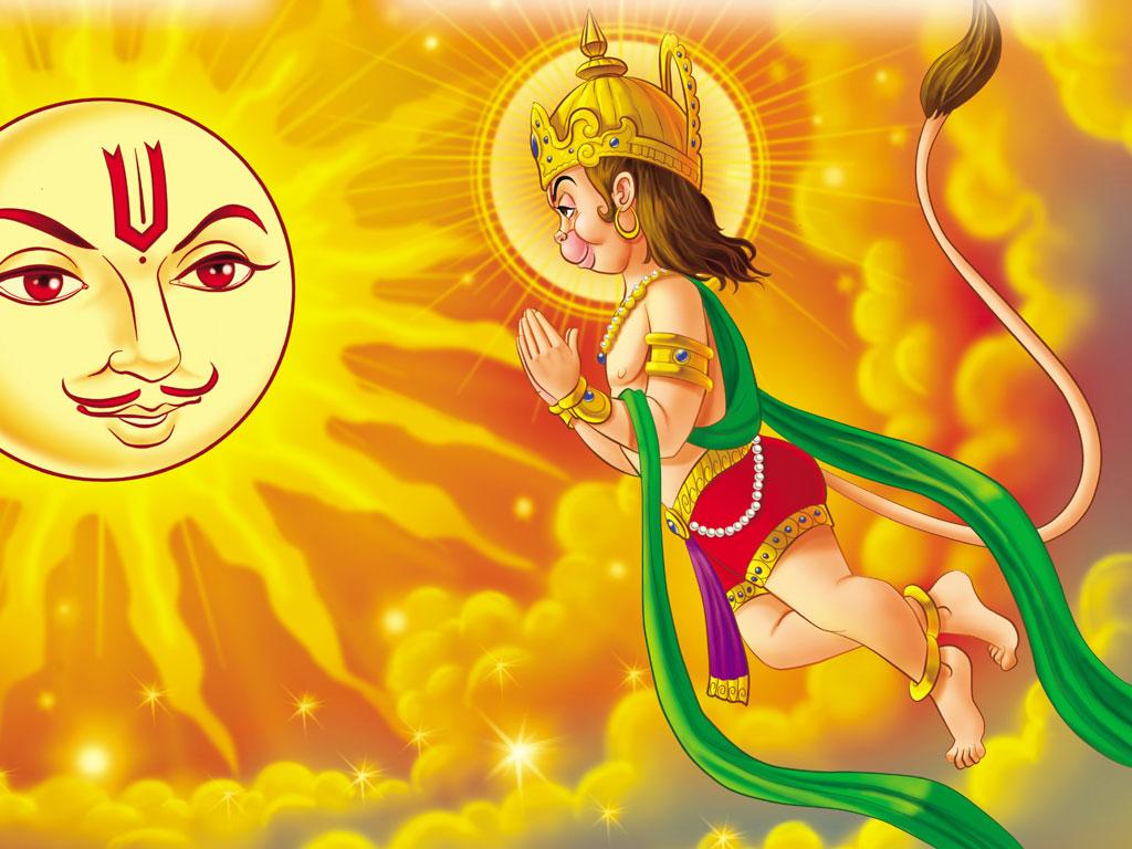 New Hindu God Hd Wallpapers Lord Bal Hanuman New Hd Free Wallpaper