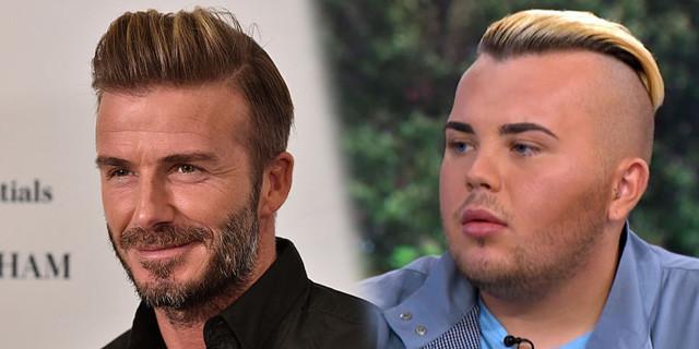 Habiskan 333 Juta Rupiah Demi Wajah Mirip David Beckham. Hasilnya Mirip Banget Kan..