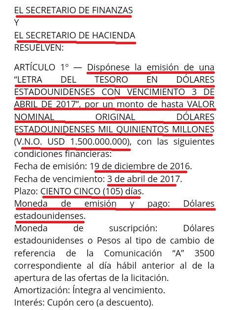 EL GOBIERNO,
