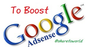 2 Things To Do To Boost Your Google Adsense Income