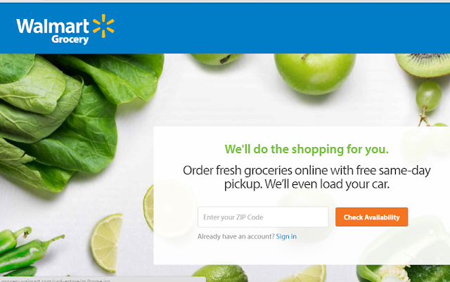 Review of Walmart Online Grocery Service
