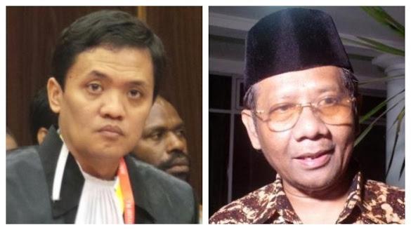 Tanggapi Pernyataan Mahfud MD soal BPIP, Habiburokhman: Tegas Aja Bos, Tolak