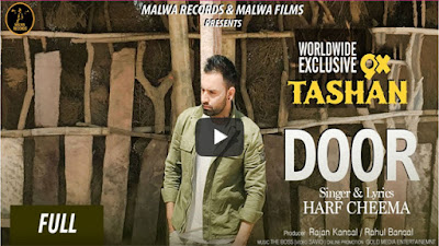 Door Lyrics - Harf Cheema Ft The Boss | Latest Punjabi Songs 2017