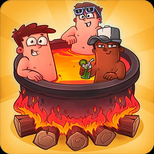 تحميل لعبه Farm and Click - Idle Hell Clicker مهكره وجاهزه اصدار 1.1.0