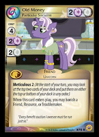 My Little Pony Old Money, Particular Socialite Friends Forever CCG Card