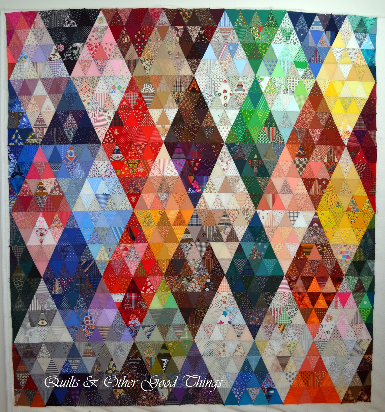 Quilts And Other Good Things Thousand Pyramids The 30