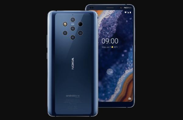 أخيرا نوكيا تكشف عن هاتفها المميز Nokia 9 Pureview